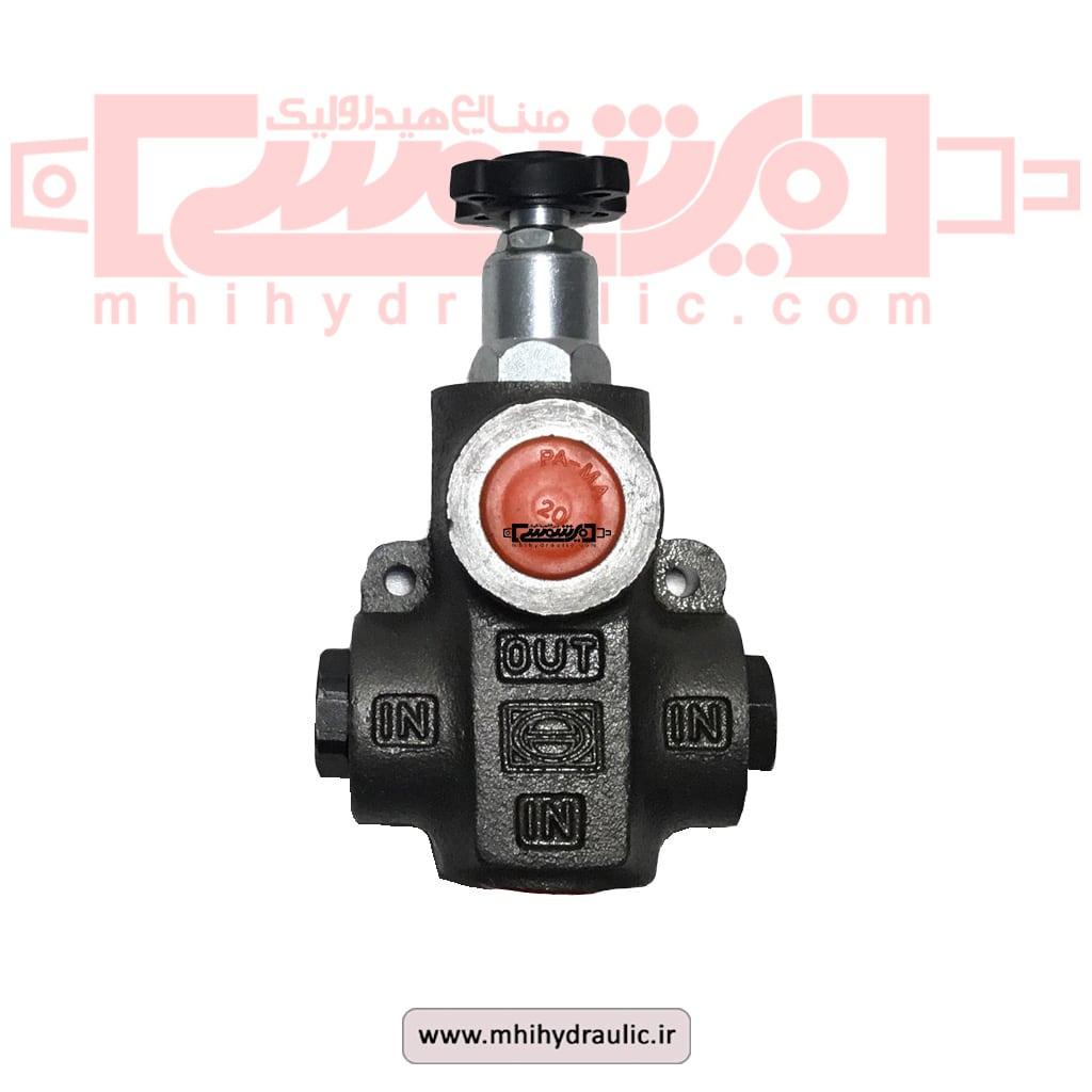 شیر هیدرولیک کنترل فشار-min