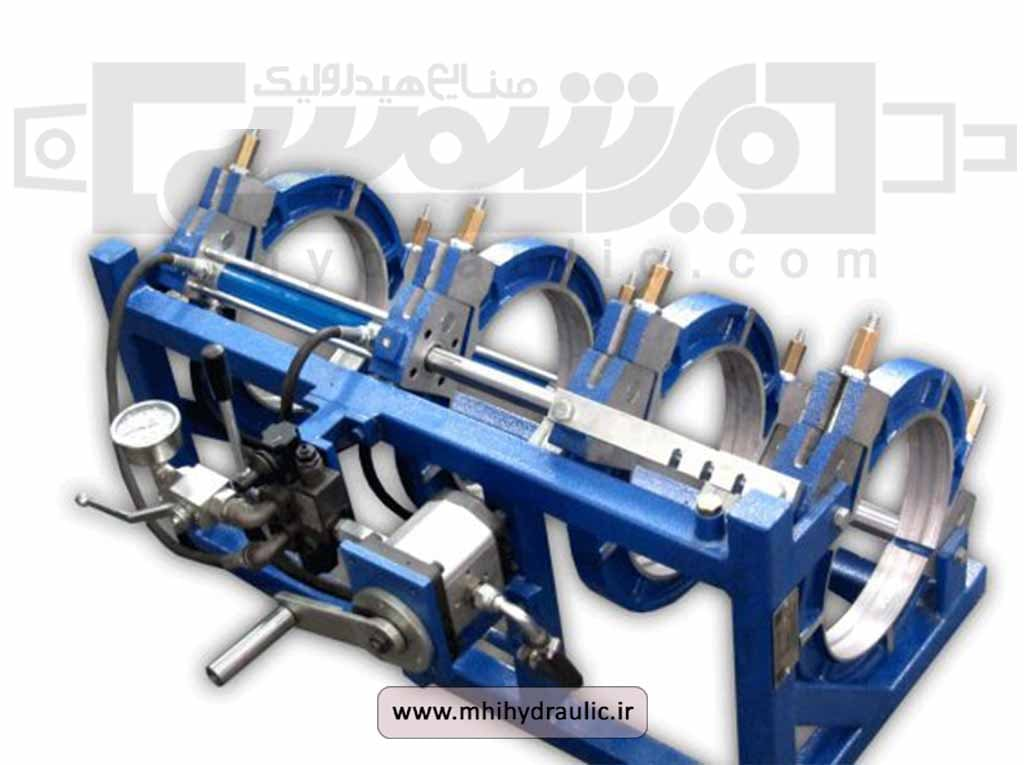 تصویر دستگاه جوش پلی اتیلن هیدرولیک