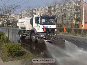 کامیون آب پاش